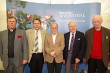 The shortlisted authors: Richard Burridge, David Brown, Richard Bauckham, Anthony Thiselton, Sebastian Moore