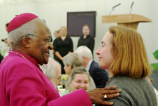 Archbishop Desmond Tutu and Mrs Jane Williams