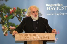 Rowan Williams at the prizegiving ceremony